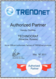 TRENDnet Authorized Partner 2011